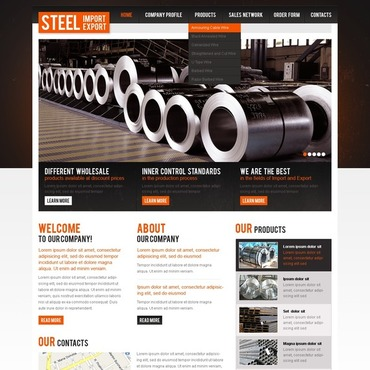 Steelworks Website Template