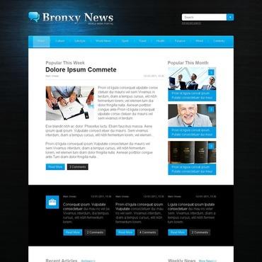 News Portal Website Template
