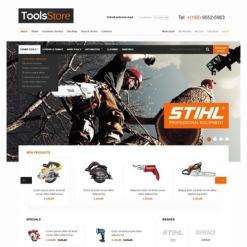 Tools & Equipment Magento Theme