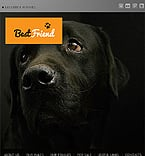 Dog Facebook Flash Template