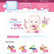 Toy Store Facebook Flash Template
