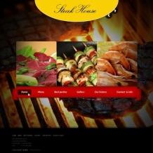 Steakhouse Website Template