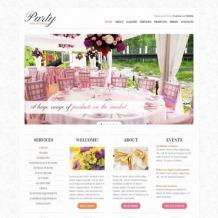 Event Planner Website Template