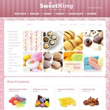 Sweet Shop Magento Theme