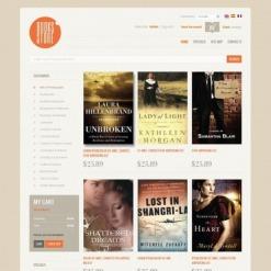 Book Store Facebook Flash Template
