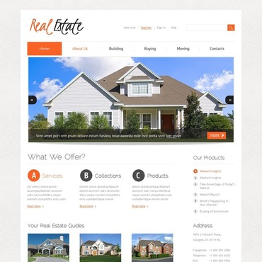 Real Estate Joomla Template #38146