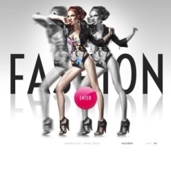 Fashion Facebook Flash Template