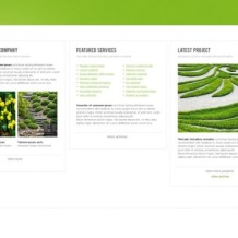 Landscape Design Website Template