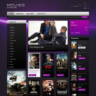 Movie PrestaShop Theme