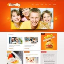 Family Center Drupal Template
