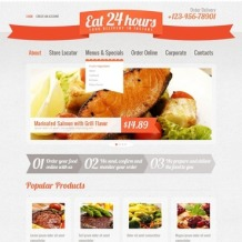 Catering Website Template