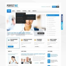 Management Company Facebook Flash CMS Template