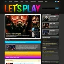 Games Website Template