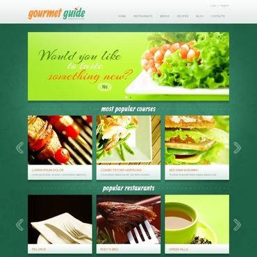 Restaurant Reviews Joomla Template
