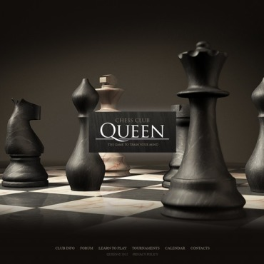Chess Website Template