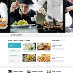 Cooking Website Template