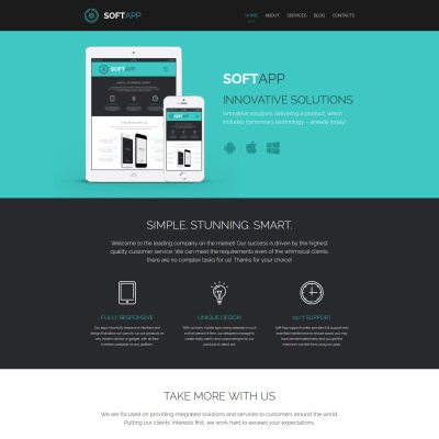 Software Responsive Template