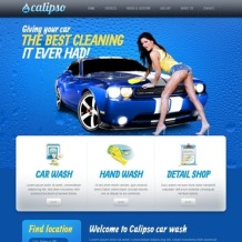 Car Wash Website Template
