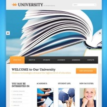 University Website Template