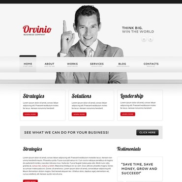 Management Company Joomla Template