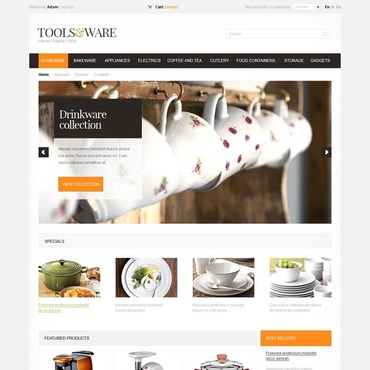 Housewares PrestaShop Theme