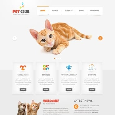 Animals & Pets Joomla Template