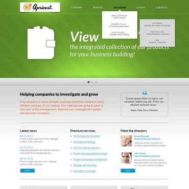 IT Website Template