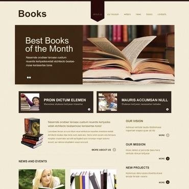 Book Reviews Joomla Template: www.templatemonster.com/category/books-joomla-templates