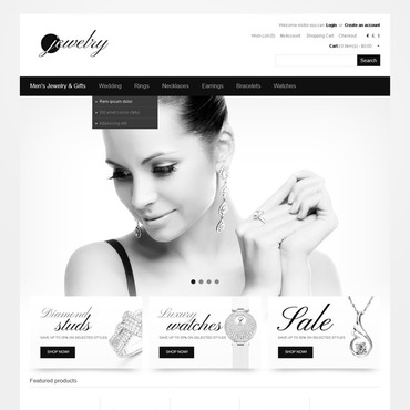 Gold Mine OpenCart Template #40922