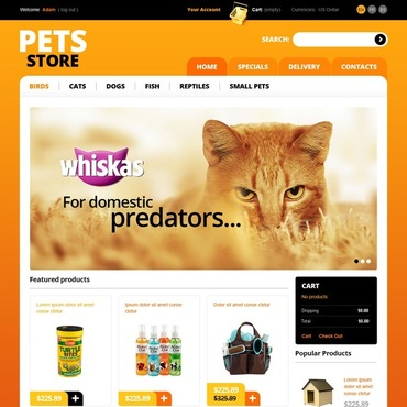 Pet Shop PrestaShop Theme