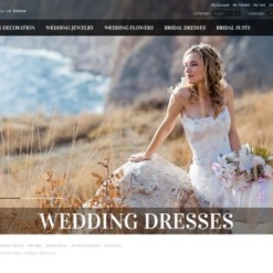 Wedding Dresses OsCommerce Template