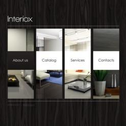 Interior Design Facebook Flash CMS Template