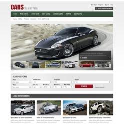 Car Dealer Facebook Flash CMS Template