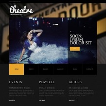 Theater Moto CMS HTML Template