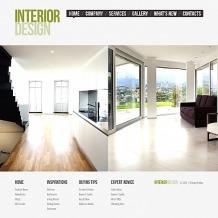 Interior Design Moto CMS HTML Template