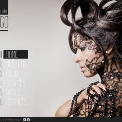 Hair Salon Flash CMS Template