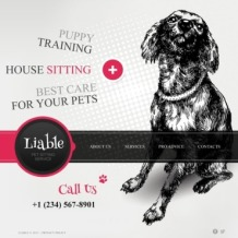 Pet Sitting Website Template