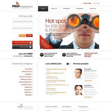 Job Portal Joomla Template