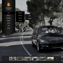Car Dealer Website Template