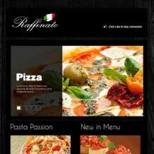 Pizza Facebook Template