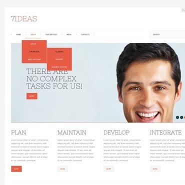 IT Responsive Website Template