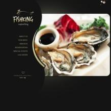 Seafood Restaurant Flash CMS Template