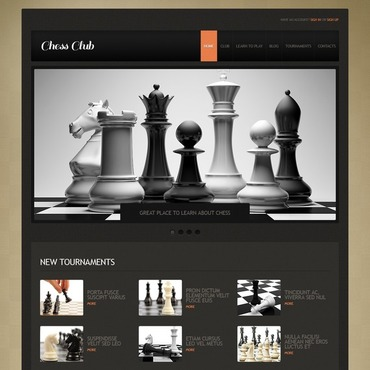 Chess Responsive Joomla Template