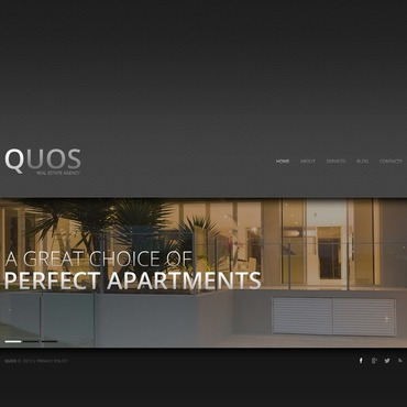 Real Estate Agency Website Template