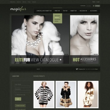 Apparel VirtueMart Template