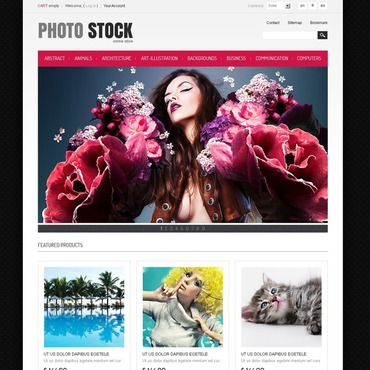 Stock Photo PrestaShop Theme