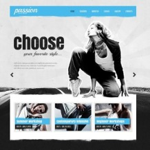 Dance Studio Website Template