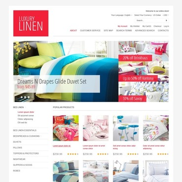 Home Decor Magento Theme