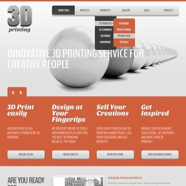Print Shop Joomla Template