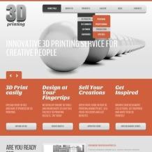 Print Shop Joomla Template